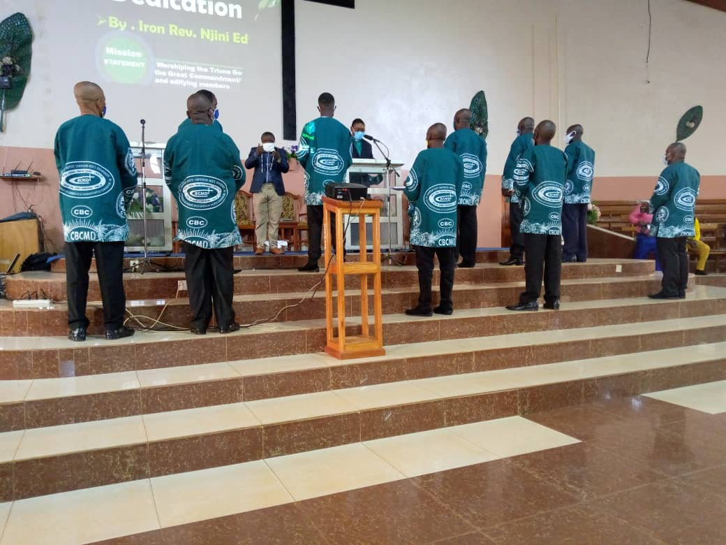 Men of the Cameroon Baptist Convention Commemorate Week of Missions