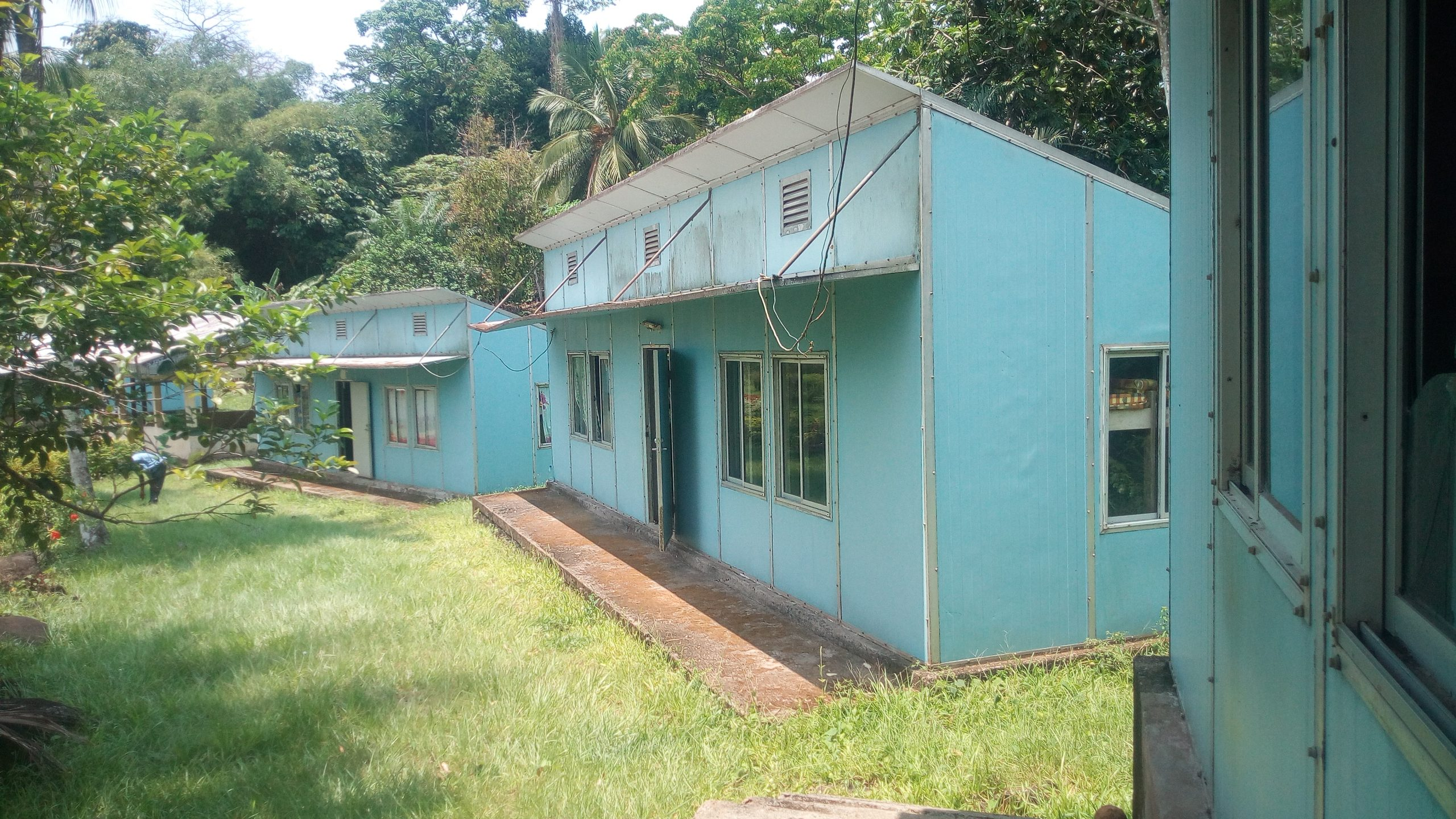Camp Lodges At Bimbia