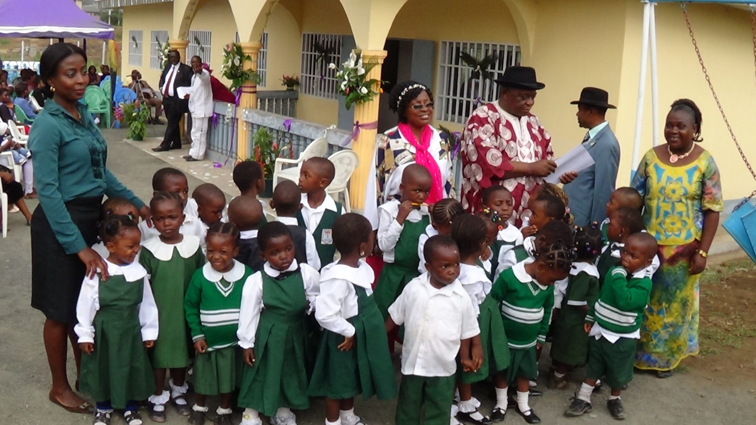 Graduation at the CBC Early Childhood Centre, Great Soppo Buea