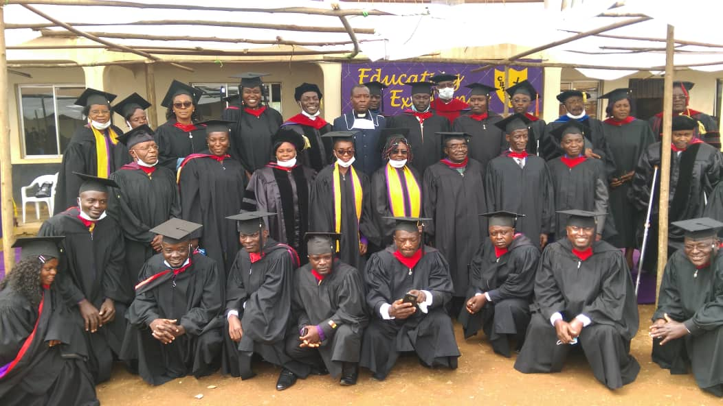 The Cameroon Baptist Theological Seminary (CBTS) Ndu Graduates 73 Ministers of the Gospel