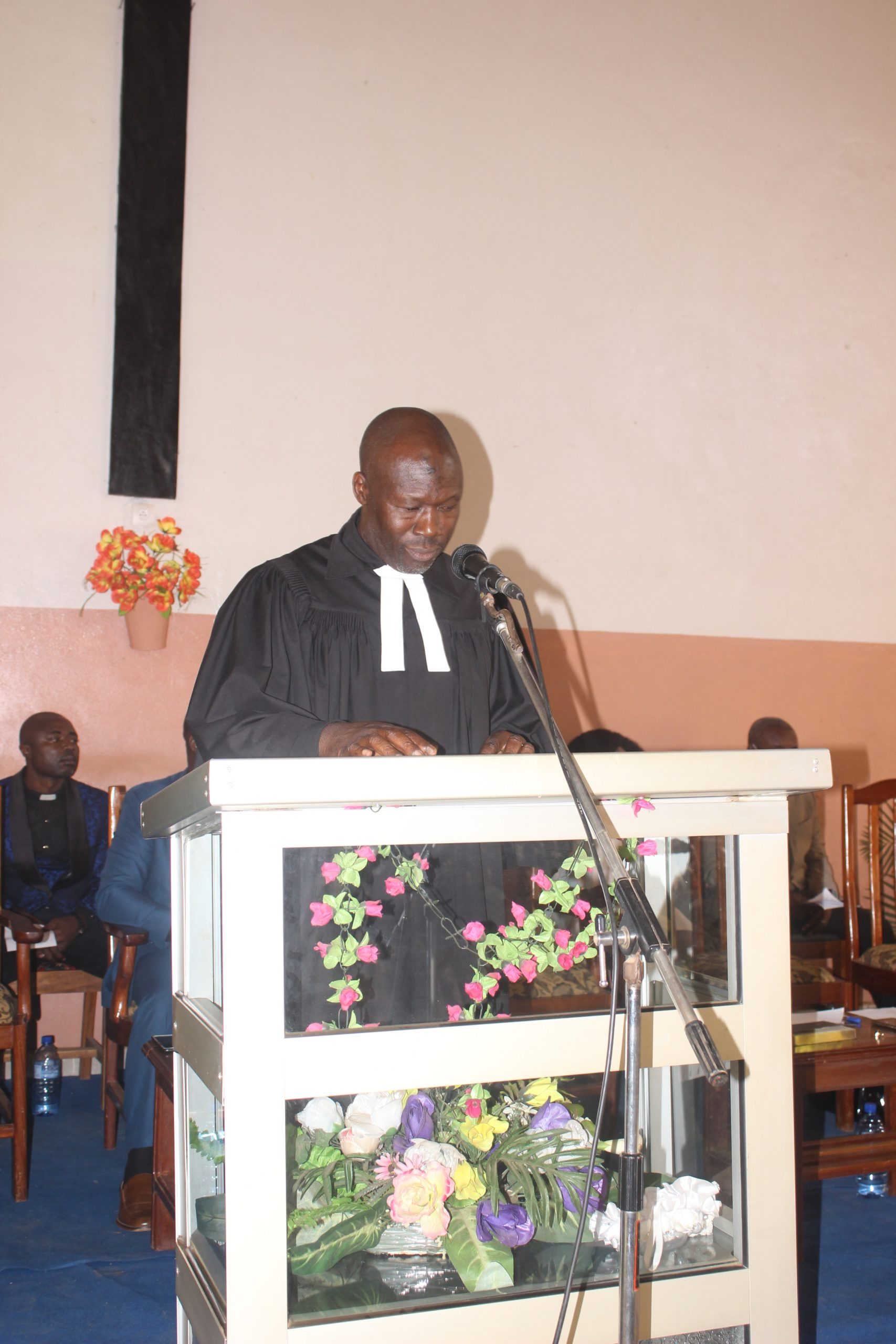 Rev. Dr. Ncham Godwill Signs Out as CBC Executive President