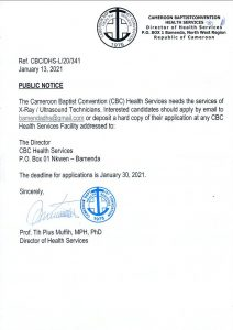 CBC Health Services Hiring Health Workers