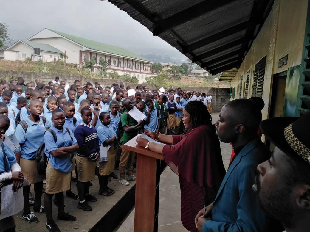 Soppo Field Pastor Visits Educational Institutions within the Field