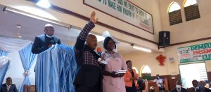 Zion Baptist Church Bonaberi-Douala inducts Pastor
