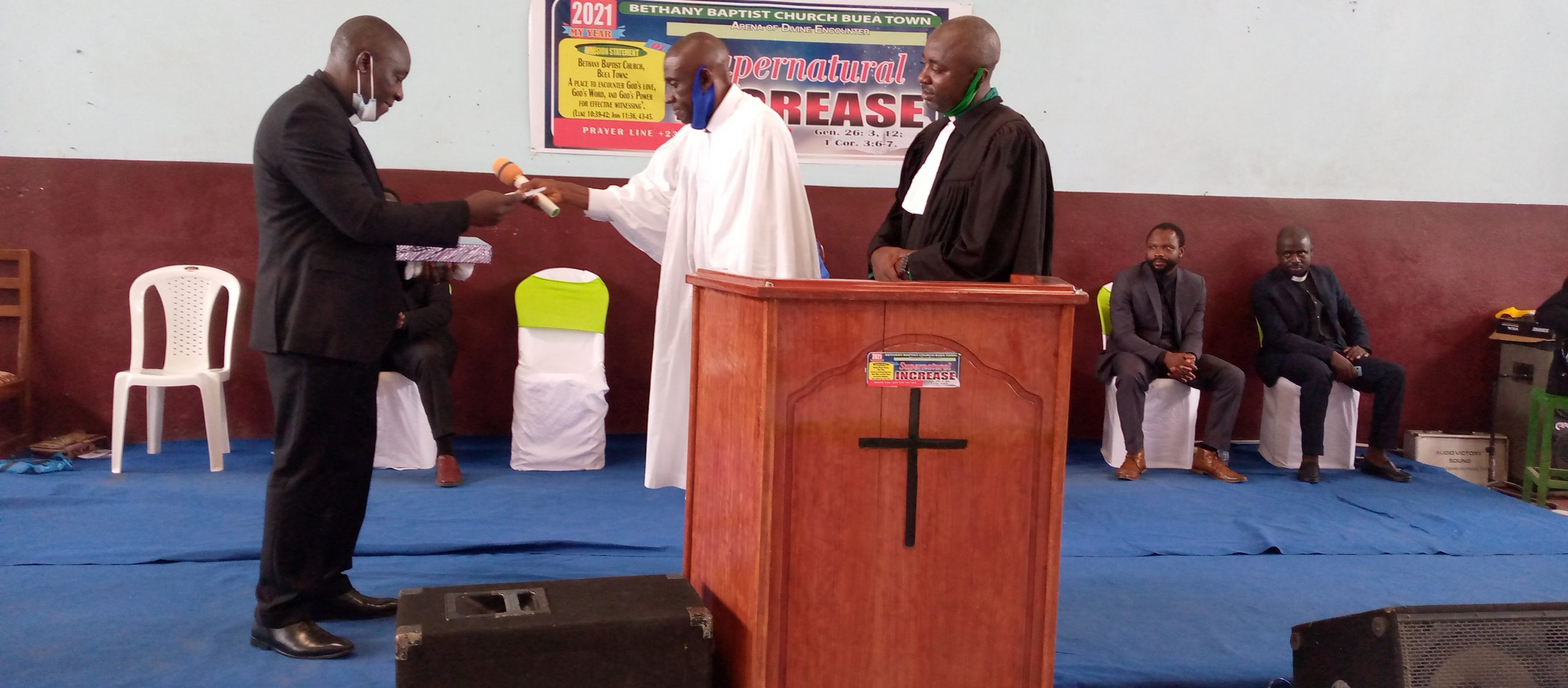 Bethany Baptist Church Buea Town Inducts Pastor