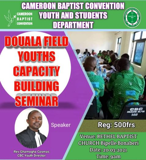 Douala Field Youths Prepare for Capacity Building Seminar