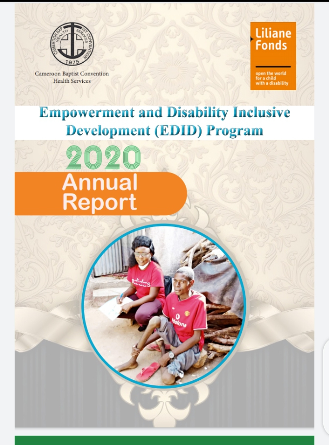 Empowerment and Disability Inclusive Development (EDID) Program 2020 Annual Report