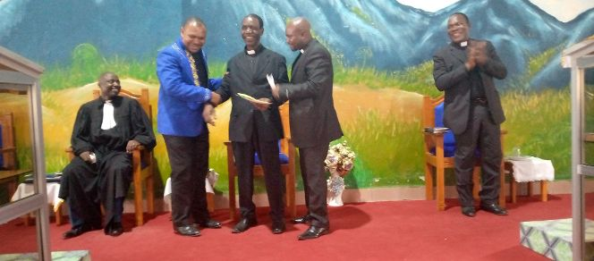 Rev. Mbah Victor retires after 45years of Service