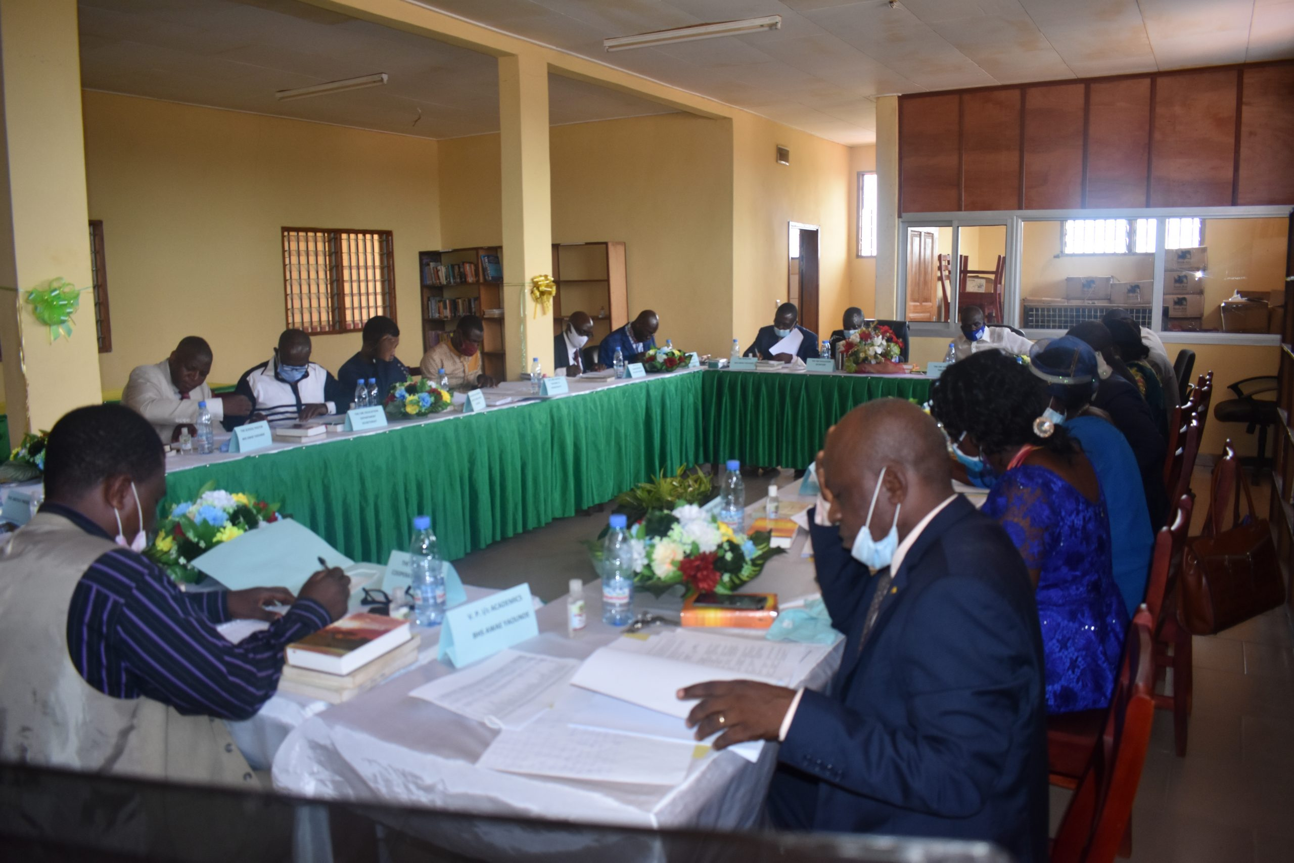 Education Department Holds 15th Board Of Governors' Meeting in Baptist High School Awae-Yaounde