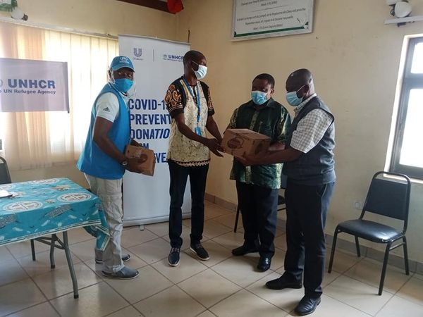 The United Nations High Commission for Refugees donates ten thousand cubes of Savon to the CBCHS and CBCED