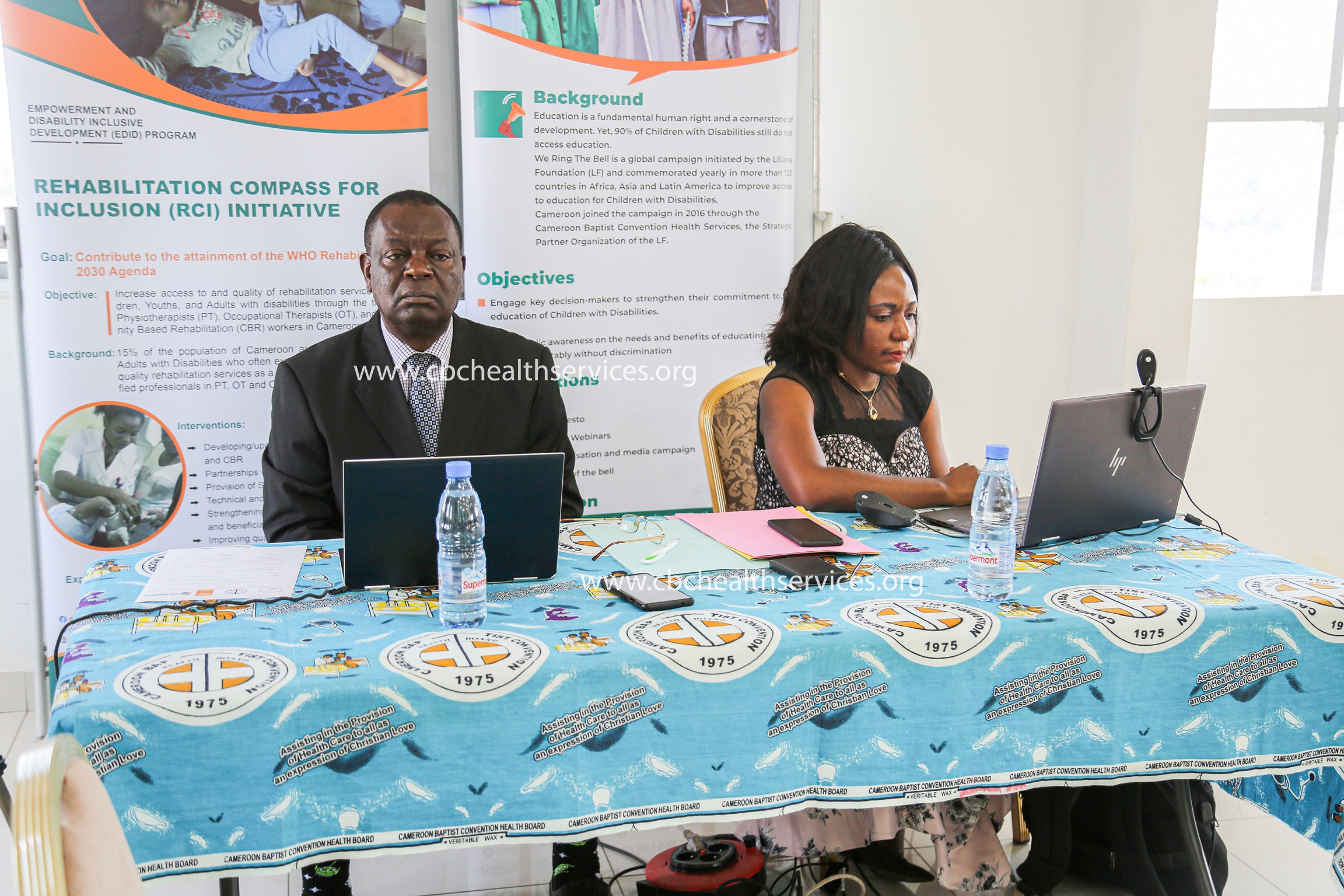 Launching of Rehabilitation Compass for Inclusion Project in Yaounde